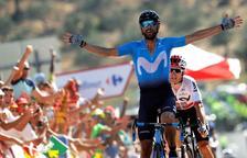 Valverde guanya la segona etapa i Dennis ja no és líder