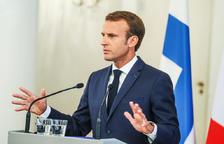 Macron defensa rebre immigració sense renunciar a les bases de la UE