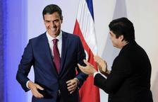 Sánchez demana a Torra que iniciï el diàleg entre la societat catalana