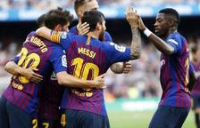 L'FC Barcelona mostra tot el potencial i goleja l'Osca