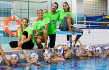 Tret de sortida del campus Gemma Mengual de natació artística