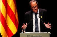 Torra ofereix a Sánchez pactar un referèndum i crida a la mobilització