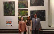 L'artista Ainara Revuelta rep una medalla pel compromís amb Artcamp