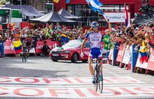 Yates brilla a Naturlandia i té a tocar la seva primera Vuelta