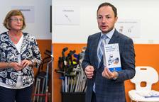 Inauguració d'un banc de productes de suport per a persones dependents
