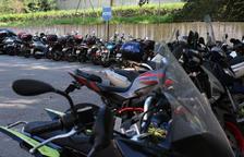 Més places d'aparcament gratuït per a motocicletes