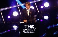 Luca Modric guanya el The Best per davant de Ronaldo