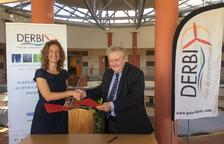 Calvó i el president del Pol Derbi signen un acord per fomentar l'ús d'energies renovables