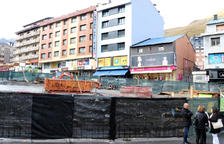 La plaça de l'església del Pas estarà acabada a final del 2019