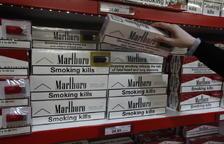 El diferencial del tabac amb Espanya va del 28 al 40%