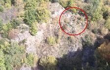 Rescatat un caçador que va caure per un barranc a Asnurri