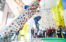 El nou rocòdrom s'estrena amb portes obertes fins divendres