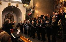 Una trentena de cantaires, al concert de Nadal