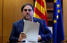 """Junqueras espera """"una oferta"""" de Sánchez per aprovar el pressupost"""
