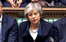 May supera per un estret marge la moció de censura dels laboristes