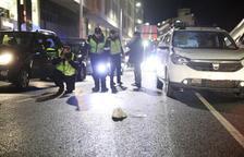 Un home en estat greu per un atropellament a l'avinguda Consell d'Europa