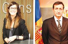Sílvia Riva i Enric Tarrado, candidats de DA a la capital
