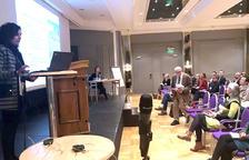 Dues mestres de l'UdA, en una trobada a Noruega