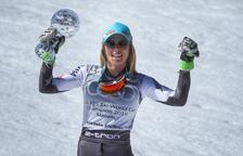 Mikaela Shiffrin remunta a la segona mànega i guanya l'eslàlom de les finals de la Copa del Món