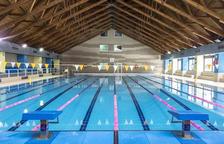 Tanca la piscina per la lliga catalana de natació