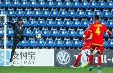 La selecció cau davant d'Albània pels errors (0-3)
