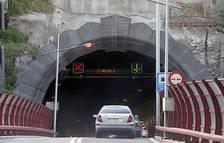 Tall al túnel del Pont Pla per obres de manteniment