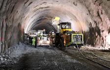 Completats amb èxit els primers 500 metres del túnel de Tresponts