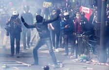 Enfrontaments a París durant la manifestació del Primer de maig