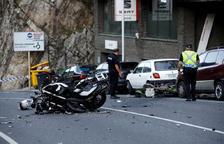 Més del doble de morts en moto que a la UE