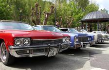 L'Associació de cotxes antics porta 114 vehicles de visita