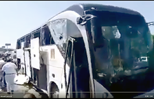 Explota una bomba en un bus turístic a Egipte i provoca catorze ferits lleus