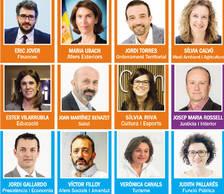 Vilarrubla, Canals, Filloy i Riva tanquen el Govern