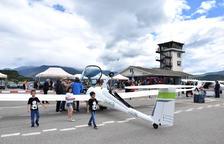 Els vols d'aerotaxi a la Seu creixen un 30% el 2018