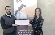 Andbank dona 38.000 euros per a la lluita contra el càncer