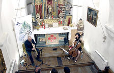 Concert de l'ONCA a  l'església de Canillo