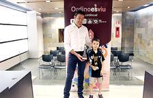 Un campió d'Espanya visita el cònsol d'Ordino