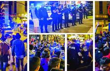 Tres nous detinguts a la festa major de Sant Julià