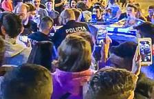 Dubtes sobre l'actuació de la policia a la festa de Sant Julià