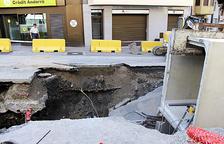 Afectacions per obres de remodelació de les avingudes Joan Martí i François Mitterrand