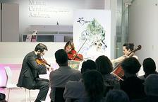 El Trio Goldberg aplega 60 persones al Thyssen