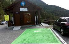 Enllestits els treballs de millora a la carretera de Sorteny i l'adjudicació de l'aparcament