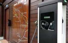 Instal·lat un carregador de cotxes elèctrics a Sorteny
