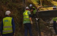 Andorra Telecom treu el cablejat aeri de fibra que dona servei a Pal-Arinsal