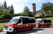 Presentació de les noves línies de bus nacional i el de la capital