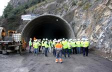 Aturen l'excavació del túnel de Tresponts a causa d'impagaments