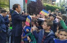 Macron i autobusos, als set tuits