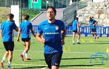 El lateral de l'FCAndorra Fede Bessone serà baixa per al partit de demà contra l'Ejea
