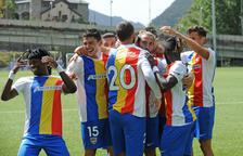 Tercera victòria consecutiva de l'FC Andorra (3-0)
