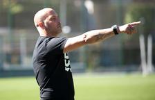Gabri García insisteix que la permanència és l'objectiu