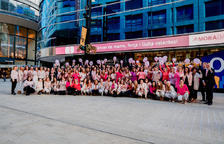 MoraBanc surt al carrer contra el càncer de mama
